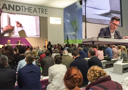 RC on Stage GDLive2015©BacaArchitects